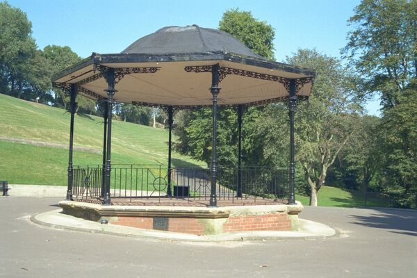 Bandstand. © Mr B.G. Carroll   Source: Images of England