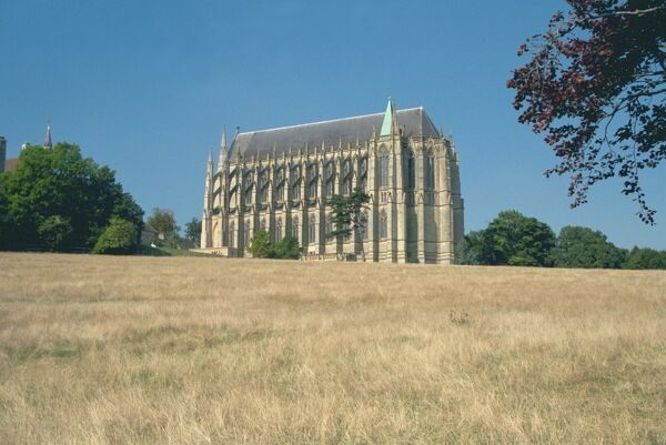 The Chapel, Lancing College. © Robin Earl LRPS  Source: Images of England