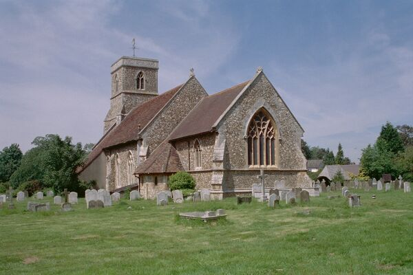 Church of St Michael & All Angels, Brantham.. © Alistair F. Nisbet 