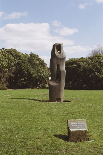 Monolith (Empyrean) Sculpture in Grounds of Kenwood. © Jayne Burton  Source: Images of England