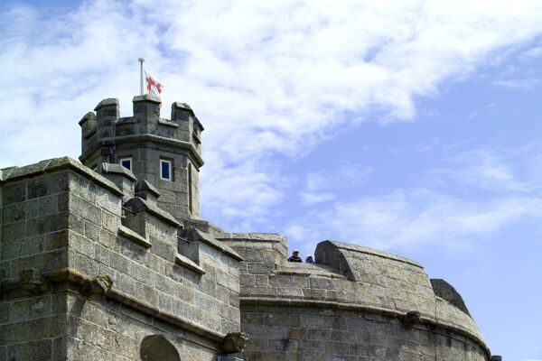 Pendennis Castle N060662. © Historic England