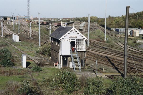 Signal Box. © Peter D. DewarSource: Images of England