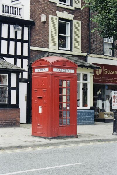 Telephone Box. © Dr R. A. Brierley Source: Images of England