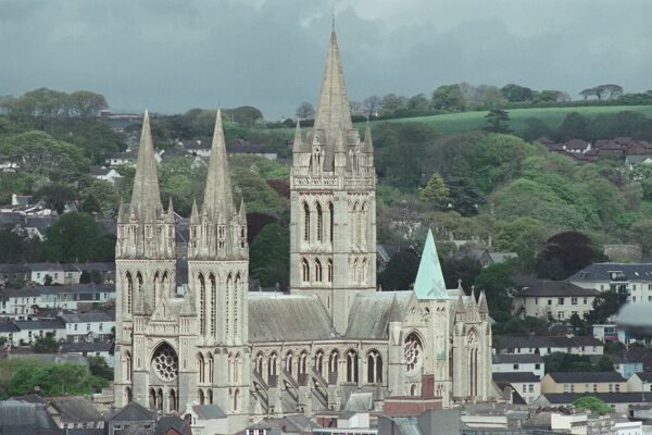 Truro Cathedral. © John E. Crowe Source: Images of England