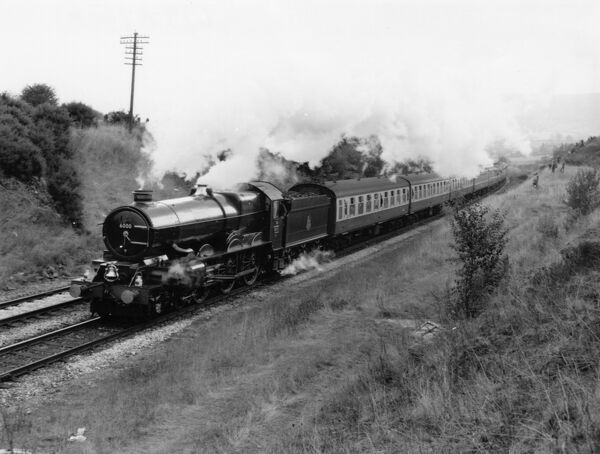 No 6000 King George V. © Steam Picture Library