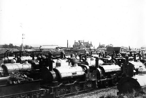 The Broad Gauge dump at Swindon in c1892.