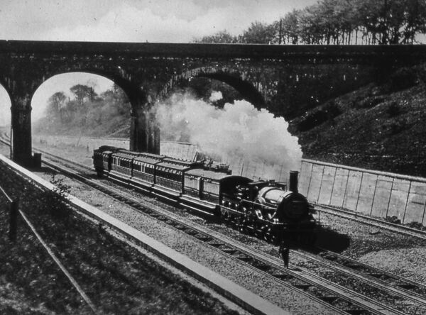 The Last Broad Gauge Locomotive, May 1892. © STEAM Picture Library 2008 - All Rights Reserved