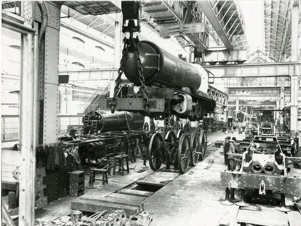 Swindon Locomotive Works. © Steam Picture Library