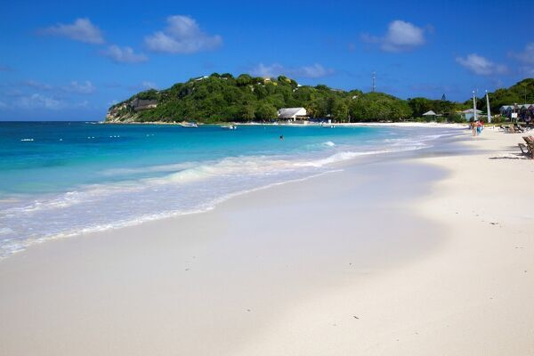 Long bay in antigua