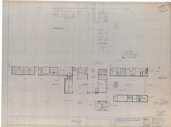floor plans for plymouth road station ground floor and basement 11723