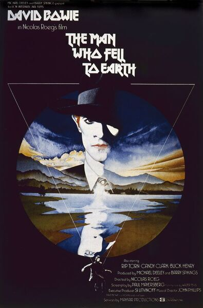 the man who fell to earth uk one sheet