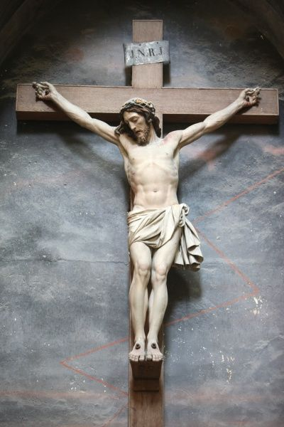 Crucifix in Holy Trinity abbey. © Godong     contact@godong-photo.com