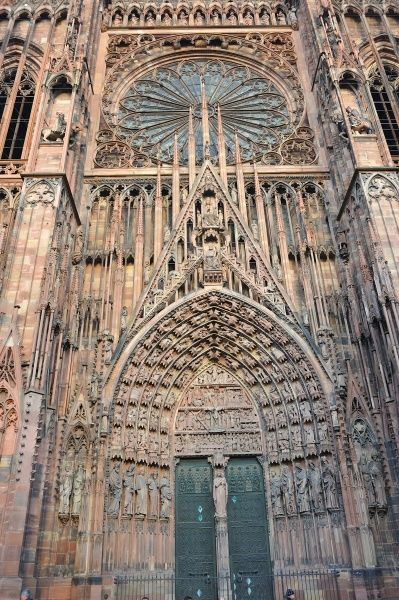 Notre-Dame of Strasbourg cathedral. © Godong/UIG