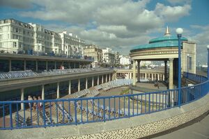 Bandstand and Viewing Decks, Eastbourne