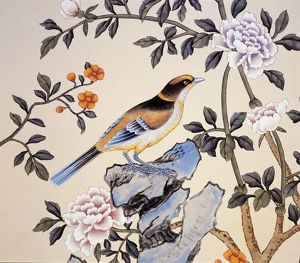 Chinoiserie wallpaper J050128