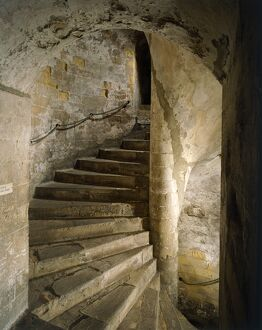 Dover Castle south staircase J870615