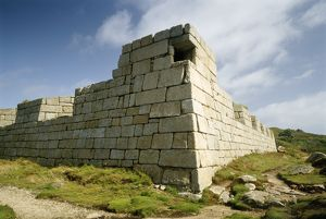 Garrison Walls, St Mary's, Isles of Scilly K920412