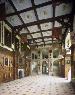 The Great Hall, Audley End House J870465