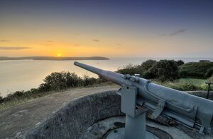 Gun at Pendennis Castle N080441