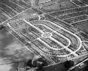 Housing estate 1930 EPW038718