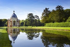 Long Water and Archer Pavilion, Wrest Park N100590