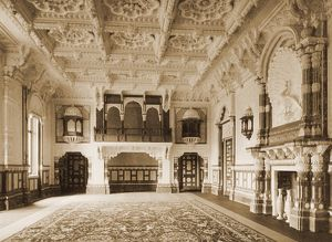 Osborne House, Durbar Room, 1892 K010284