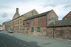 Pottery Works, Stoke on Trent