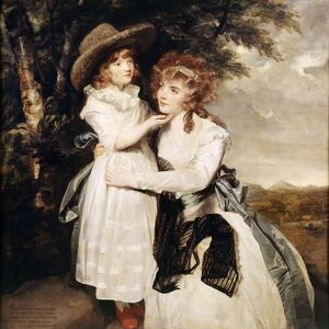Reynolds - Miss Cocks and her niece J910501