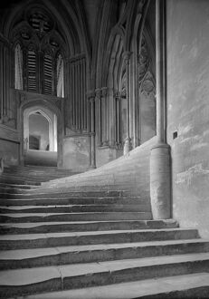 Sea of Steps, Wells Cathedral AA66_00136