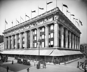 Selfridge's Department Store 1909 BL20507