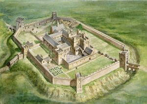 Sherborne Old Castle J960261