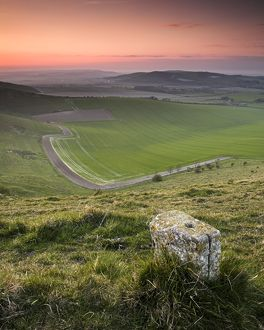 South Downs waymarker N071744