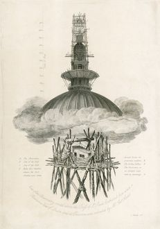 St Pauls Cathedral, Samuel Rawle's Observatory N110252
