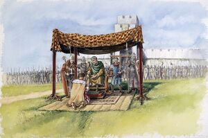William the Conqueror at Old Sarum J030099