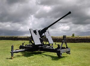 World War Two anti-aircraft gun K980562