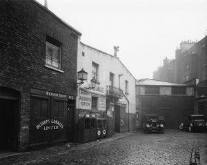 Bishop's Road (Bishop's Mews), Paddington, 1929