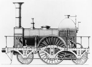 Broad Gauge locomotive, Fire Fly