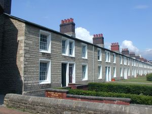 Faringdon Road cottages - present day