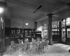 Refreshment Rooms, Paddington Station, c1925