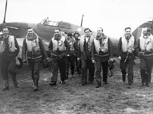 Polish pilots of 303 Squadron, 1940