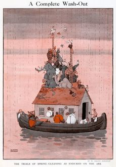 A Complete Wash-out, by William Heath Robinson