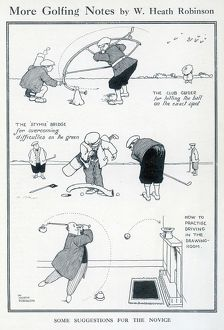 More Golfing Notes by William Heath Robinson