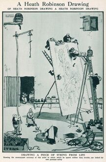 A Heath Robinson drawing