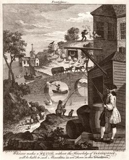 HOGARTH/FALSE PERSPECTIV