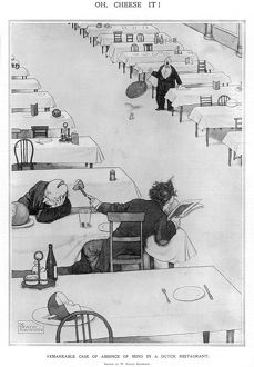 Oh, Cheese it! by W. Heath Robinson