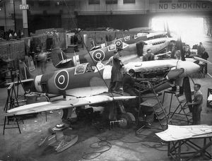 Supermarine Spitfire manufacture October 1943