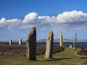scotland orkney islands the ring of brodgar
