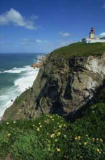 Cabo da Roca, most westerly point of continental Europe, Portugal, Europe
