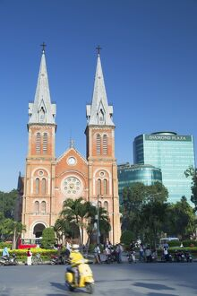 Notre Dame Cathedral, Ho Chi Minh City, Vietnam, Indochina, Southeast Asia, Asia