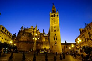 Seville Cathedral and Giralda, UNESCO World Heritage Site, Seville, Andalucia, Spain